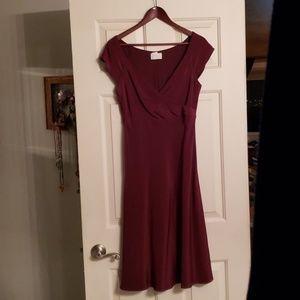 J. Crew Silk Tricotine Dress